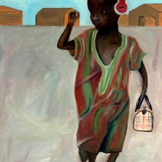 Title: Philanthropy IIMedium: oil on canvas Dimensions: 45 x 65 cm Year: 2013