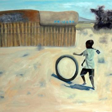 Title: Philanthropy IVMedium: oil on canvas Dimensions: 60 x 45 cm Year: 2013